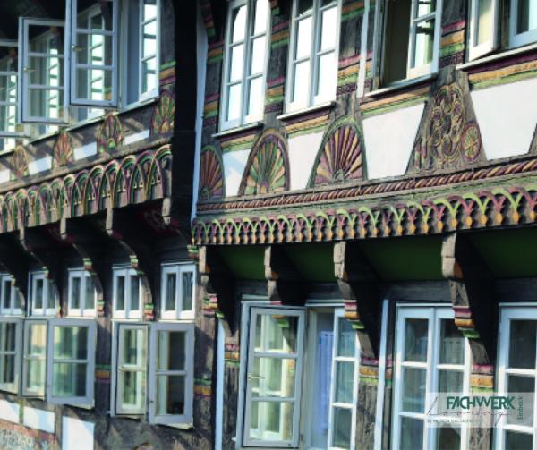 Microfasertuch - Tiedexerstraße - Häuserzeile